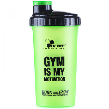 OLIMP Shaker Gym Is My Motivation Green 700ml