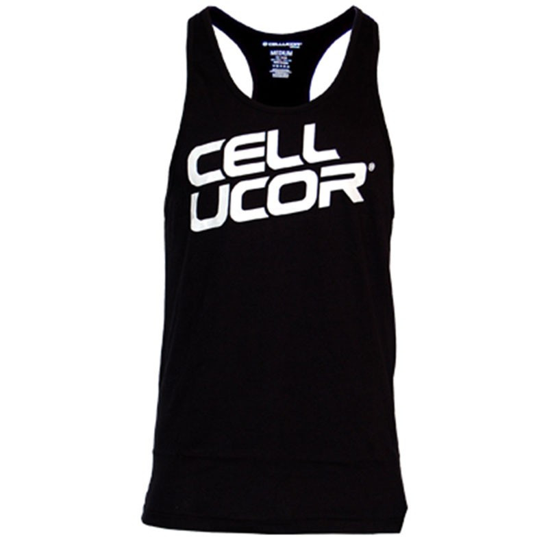 CELLUCOR Stacked Men's Stringer Tank Top Black