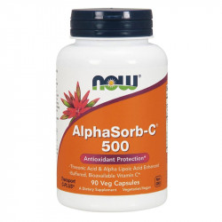 NOW AlphaSorb-C 500mg 90vegcaps