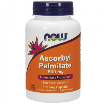 NOW Ascorbyl Palmitate 500mg 100vegcaps