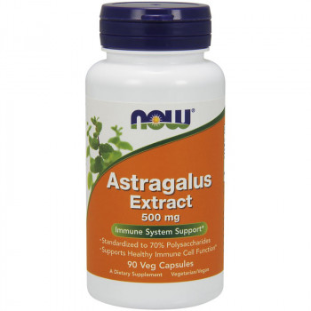 NOW Astragalus Extract 500mg 90vegcaps