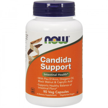NOW Candida Support 90vegcaps