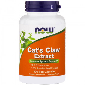 NOW Cat's Claw Extract 120vegcaps