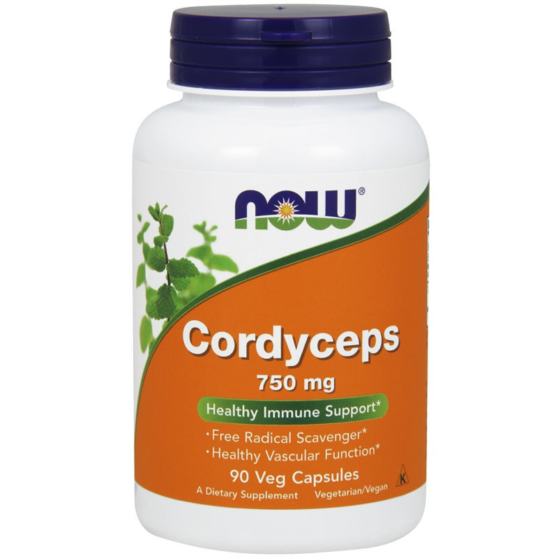 NOW Cordyceps 750mg 90vegcaps