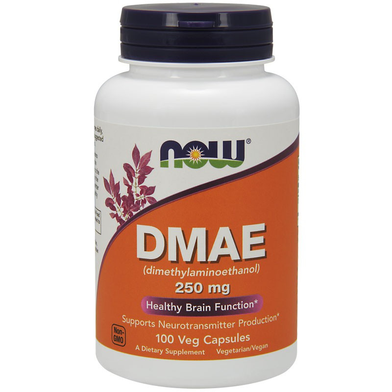 NOW DMAE 250mg 100vegcaps