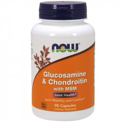 NOW Glucosamine&Chondroitin with MSM 90caps