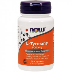 NOW L-Tyrosine 500mg 60caps