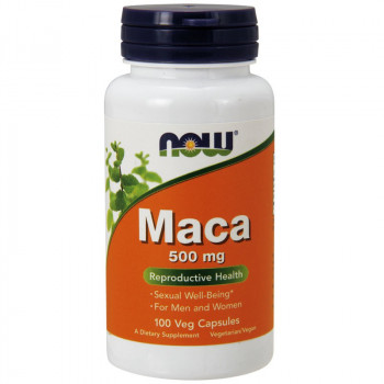 NOW Maca 500mg 100vegcaps