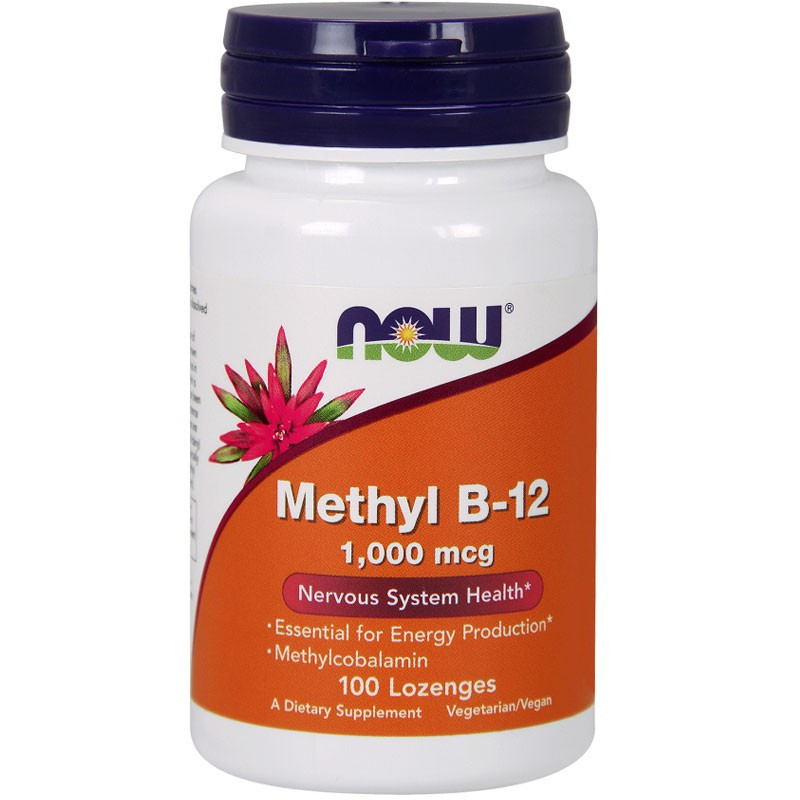 NOW Methyl B-12 1000mcg 100tabs