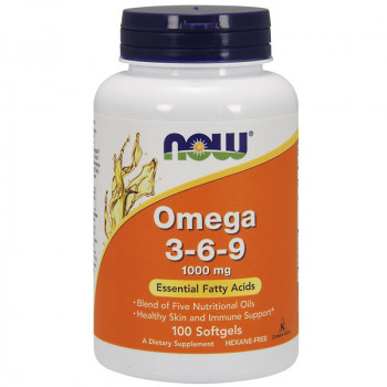NOW Omega 3-6-9 1000mg 100caps