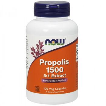 NOW Propolis 1500mg 5:1 Extract 100vegcaps