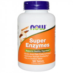 NOW Super Enzymes 180tabs