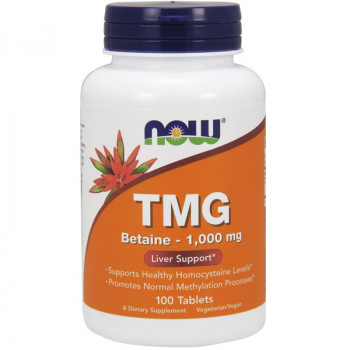 NOW TMG Betaine 1,000mg 100tabs