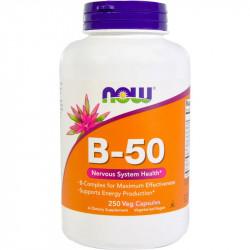 NOW Vitamin B-50 250vegcaps