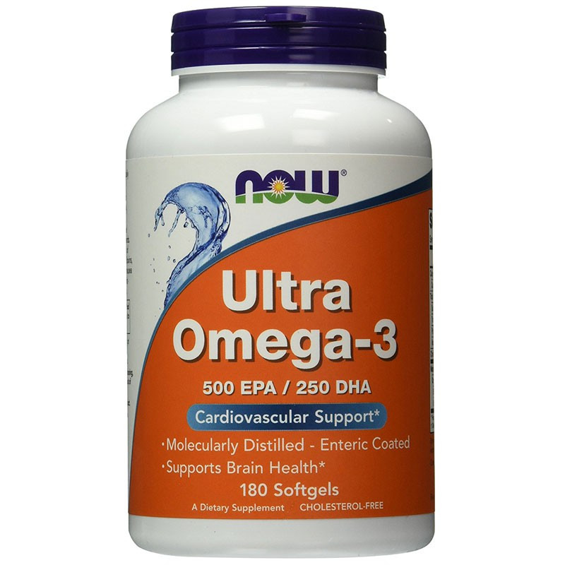 NOW Ultra Omega-3 180caps