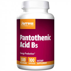 JARROW FORMULAS Pantothenic Acid B5 100caps