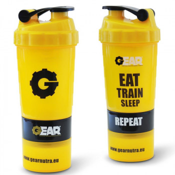 GEAR Shaker Smart Eat Train Sleep 400ml