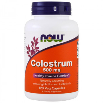 NOW Colostrum 500mg 120vegcaps