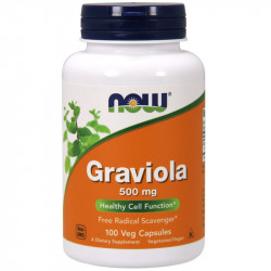 NOW Graviola 500mg 100vegcaps