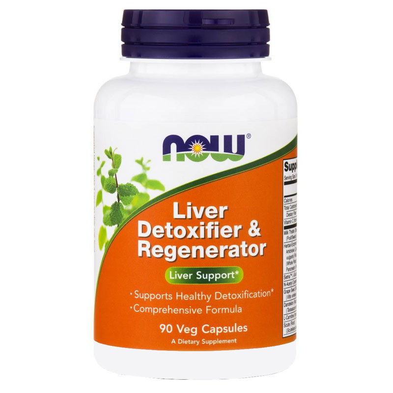 NOW Liver Detoxifier&Regenerator 90caps