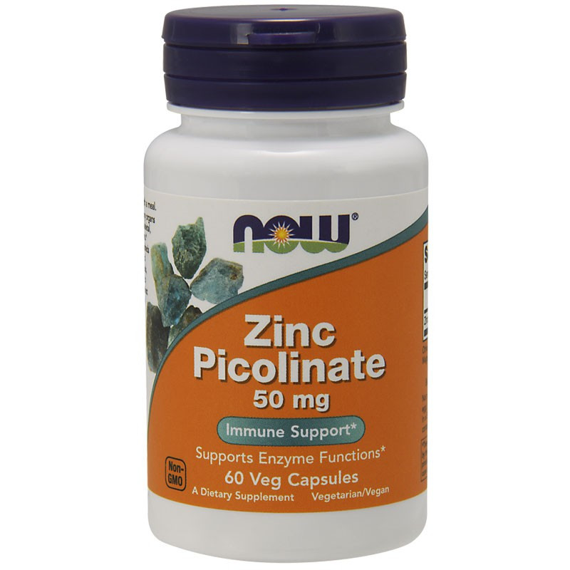 NOW Zinc Picolinate 50mg 60vegcaps