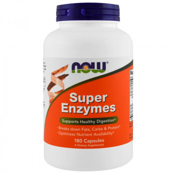 NOW Super Enzymes 180caps