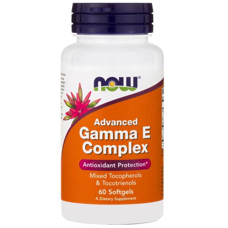 NOW Advanced Gamma E Complex 60caps