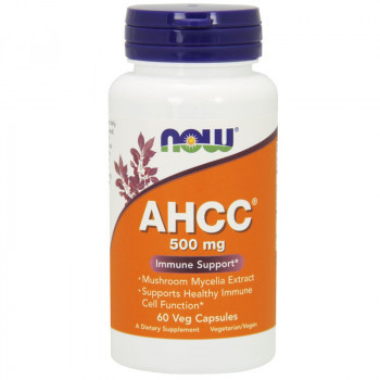 NOW AHCC 500mg 60vegcaps