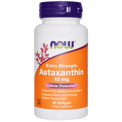 NOW Extra Strength Astaxanthin 10mg 60caps