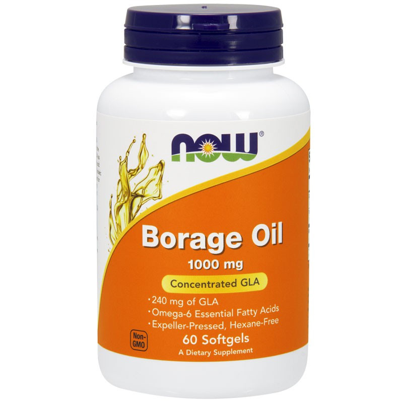 NOW Borage Oil 1000mg 60caps