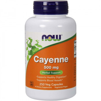 NOW Cayenne 500mg 250vegcaps