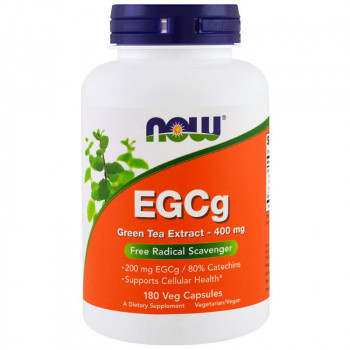 NOW EGCg Green Tea Extract 400mg 180vegcaps