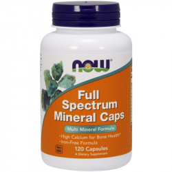 NOW Full Spectrum Mineral Caps 120caps