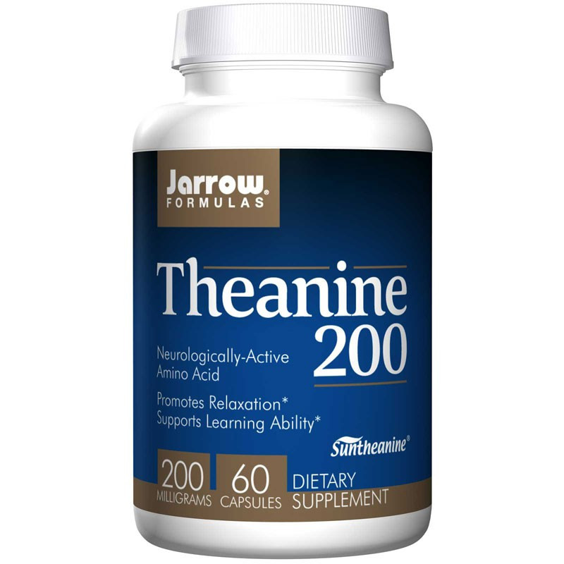 JARROW FORMULAS Theanine 200 60caps