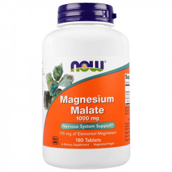 NOW Magnesium Malate 1000mg...