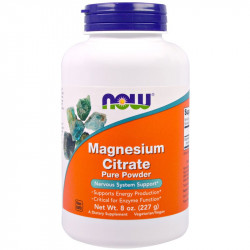 NOW Magnesium Citrate Pure...