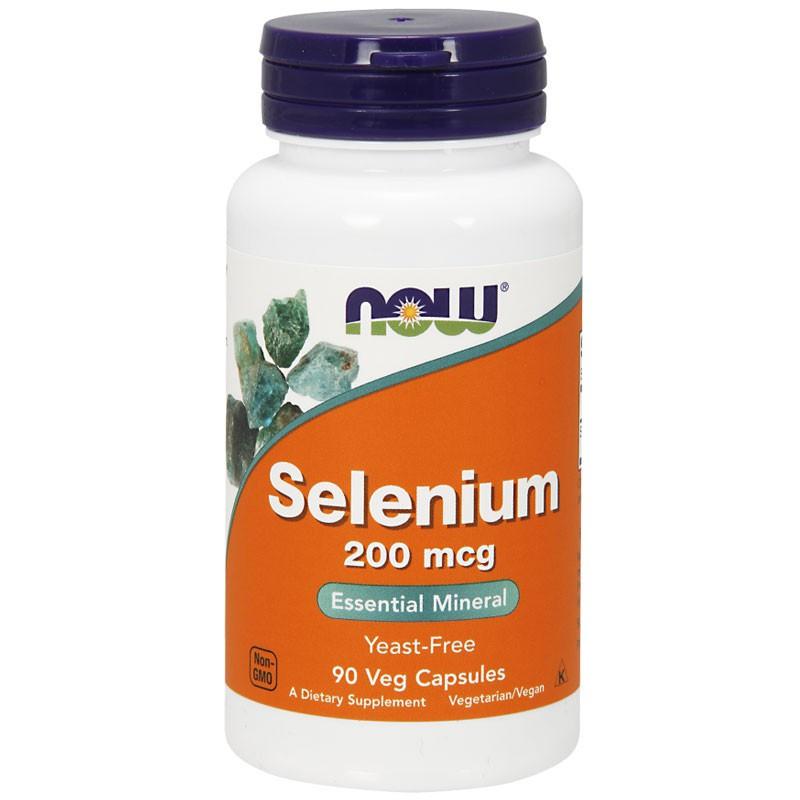 NOW Selenium 200mcg 90vegcaps