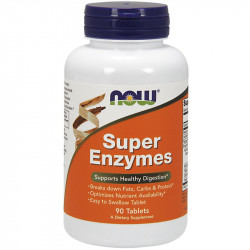 NOW Super Enzymes 90tabs