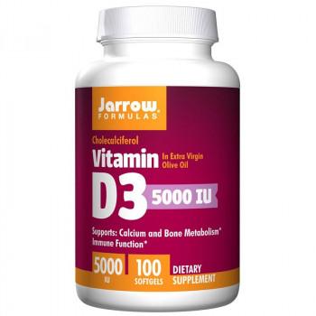 JARROW FORMULAS Vitamin D3 5000 IU 100caps