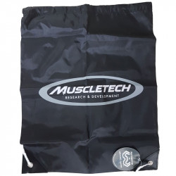 MUSCLETECH Gym Sack Worek Treningowy Black