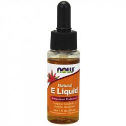 NOW Natural E Liquid 30ml