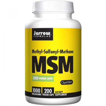 JARROW FORMULAS Methyl-Sulfonyl-Methane MSM 200caps