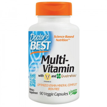 DOCTOR'S BEST Multi-Vitamin 90vegcaps