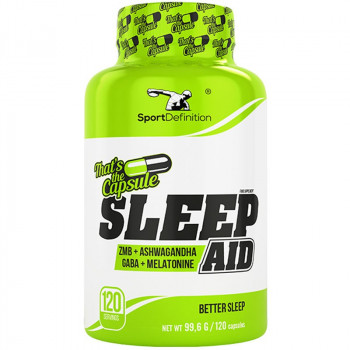 SportDefinition Sleep Aid 120caps