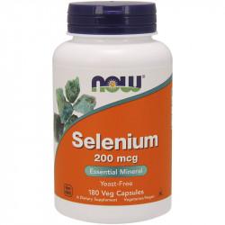 NOW Selenium 200mcg 180vegcaps