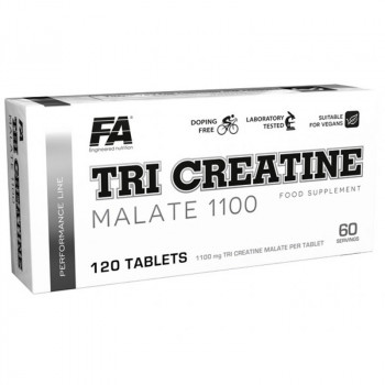 FA Tri Creatine Malate 1100 120tabs