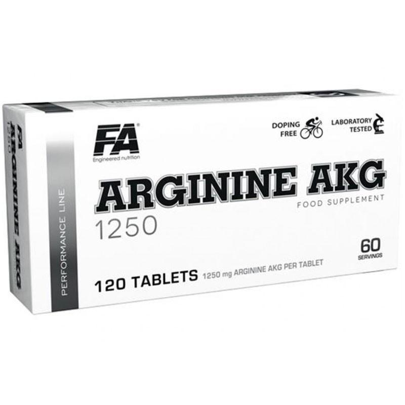 FA Arginine Akg 1250 120tabs