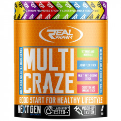 Real Pharm Multi Craze 270tabs