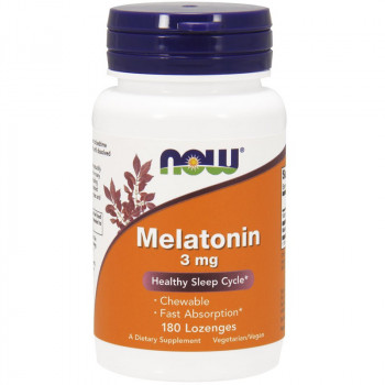 NOW Melatonin 3mg 180tabs