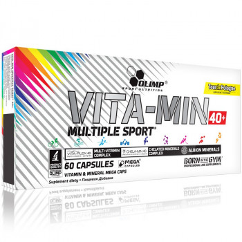 OLIMP Vita-Min Multiple Sport Mega Caps 40+ TourDePologne 60caps